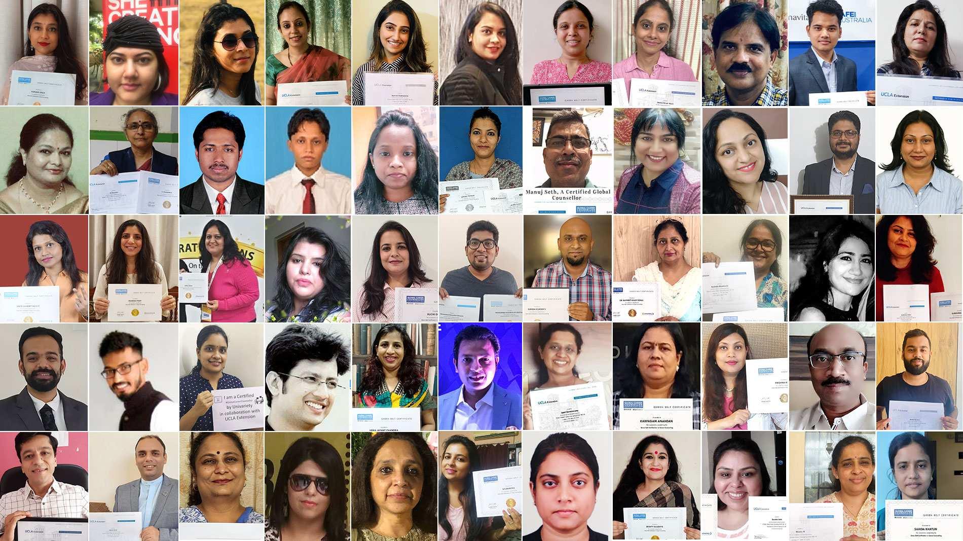 Graduating Batch of Global Career Counsellors