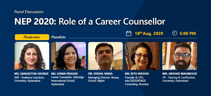 Panel Discussion on Role of a Career Counsellor