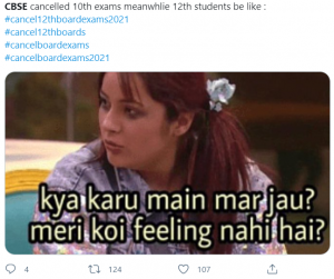 Student's reactions
