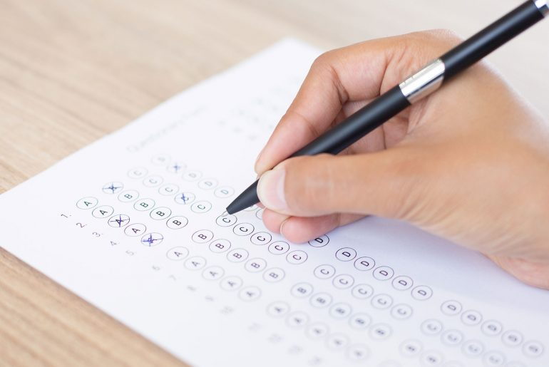 Guide students on entrance exams